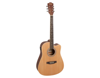 Redding RED60CENS Dreadnought Electric/Acoustic Guitar