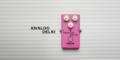 NU-X Reissue Series Analog Delay Effects Pedal