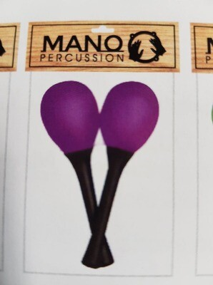 Mano Percussion EM121 Egg Maracas On Handle