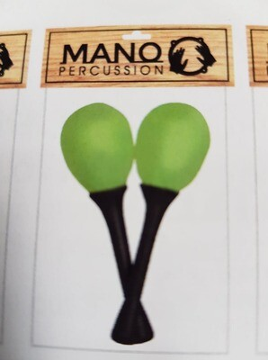 Mano Percussion EM122 Egg Maracas On Handle