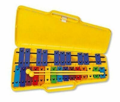 Angel Glockenspiel 25 Coloured Notes