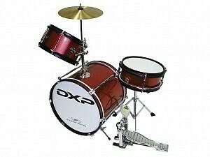 DXP Junior Series 3-piece Drum Kit -Wine Red (TXJ3WR)