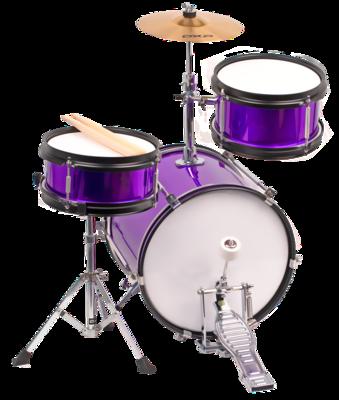 DXP Junior Series 3-piece Drum Kit -Metallic Purple (TXJ3PL)