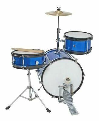 DXP Junior Series 3-piece Drum Kit - Metallic Blue (TXJ3MBL)