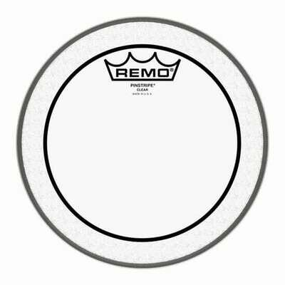 Remo PS-0308-00 Pinstripe Clear Drumhead, 8