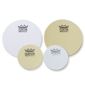 Remo KS-0002-PH 2.5 Inch Falam 2 Pack Single Bass Drum Protector Patch