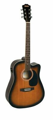 Redding RED50CETS Acoustic/Electric Guitar with cutaway