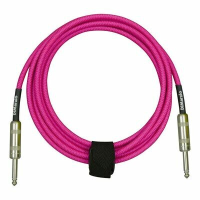 DiMarzio Braided Instrument Cable 18ft Neon Pick