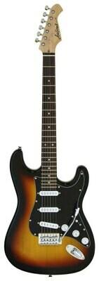 Aria STG-003SPL Series Electric Guitar in 3-Tone Sunburst