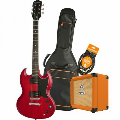 Epiphone SG Special XMAS 2020 Electric Guitar Pack - Cherry Red