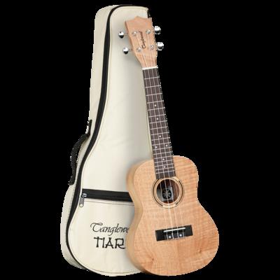 Tanglewood TWT6B Tiare Concert Ukulele All Flame Mahogany With Bag
