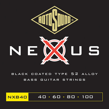 Rotosound RNXB40 NEXUS Coated Bass String Set 40-100