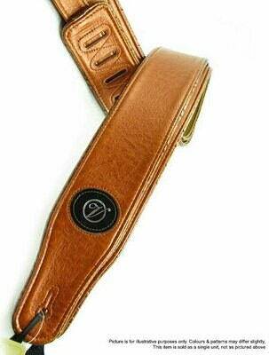 Vorson Tan Leather Guitar Strap