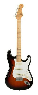 SX Alder Series Electric Guitar - 3 tone sunburst
