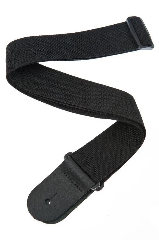 Planet Waves Polypropylene Guitar Strap, Black