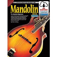 Progressive Mandolin for Beginners Book/Online Video & Audio
