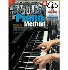 Progressive Blues Piano Method Book/Online Video & Audio
