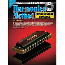 Progressive Harmonica Method Supplementary Songbook Book/CD