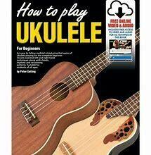 Progressive How To Play Ukulele Book/Online Video & Audio