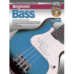 Progressive Beginner Bass Book/CD/DVD
