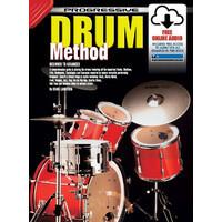 Progressive Drum Method Book/Online Video & Audio