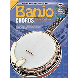 Progressive Banjo Chords Book/CD