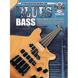 Progressive Blues Bass Book/CD