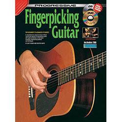 Progressive Fingerpicking Guitar Book/CD/DVD