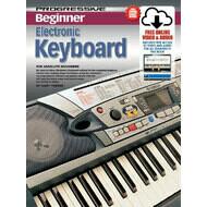 Progressive Beginner Electronic Keyboard Book/Online Video & Audio