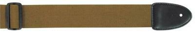 XTR Khaki Guitar Strap 2 Inch Cotton Web Material