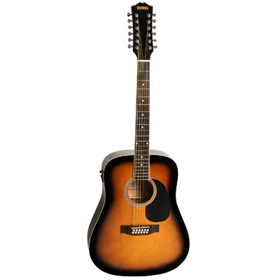 Redding RED512ETS 12 String Dreadnought Acoustic Guitar