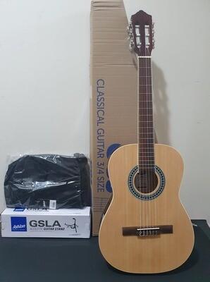 Ashton 3/4 Classical Guitar Pack