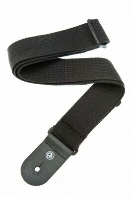 Planet Waves – 50CT00 – Cotton Guitar Strap – Black