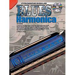 Progressive Blues Harmonica Book/CD