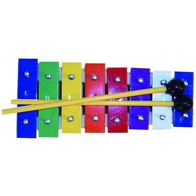 Mano Percussion UE21 8 Note Glockenspiel Coloured notes