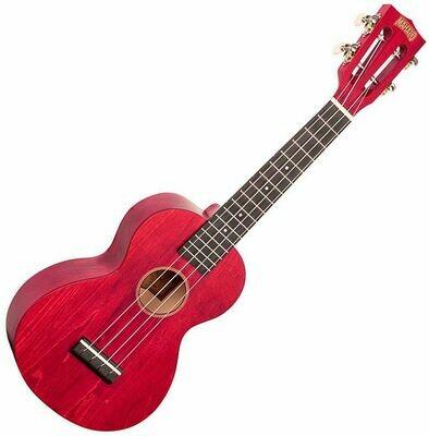 Mahalo ML2CR Concert Ukulele Cherry Red