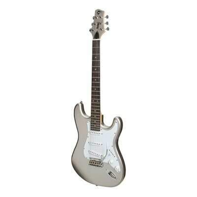 Badger Classic ST-Style Electric Guitar (Silver)