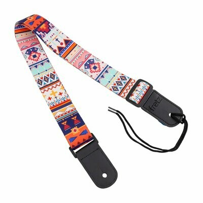 Fretz Patterned Ukulele Strap (Ancient)