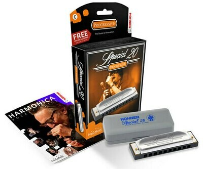 Hohner Progressive Series Special 20 Harmonica in the Key of G