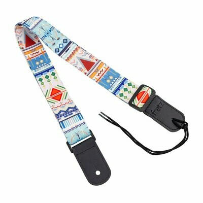 Fretz Patterned Ukulele Strap (Atlantis)