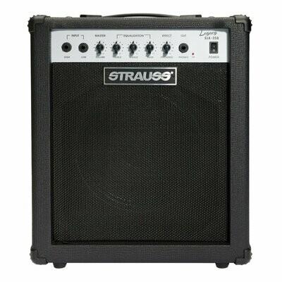 Strauss 'Legacy' 35 Watt Combo Solid State Bass Amplifier (Black)