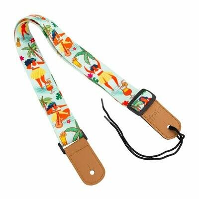 Fretz Hawaiian Style Ukulele Strap (Hula Girl)