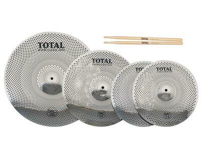 Total Percussion SRC50 Sound Reduction Cymbal Box Set