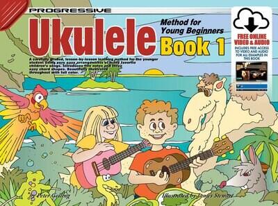 Progressive Ukulele Method for The Young Beginner Book/Online Video & Audio