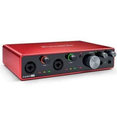 Focusrite Scarlett 8i6 Gen 3 8-in/6-out USB Audio Interface