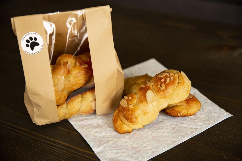 Tsoureki bread (Greek Brioche)