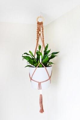 Macrame Plant Hanger - Design Style B