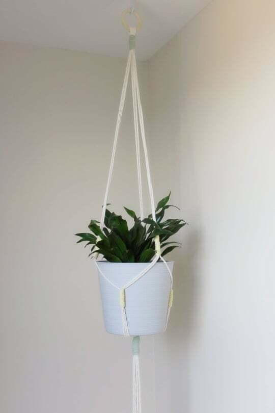 Macrame Plant Hanger - Design Style C