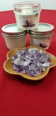 4 OZ. Lavender and Amethyst Candle