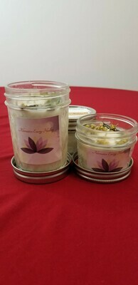 8 OZ Mugwort and GoldenRod Candle for Clairvoyance